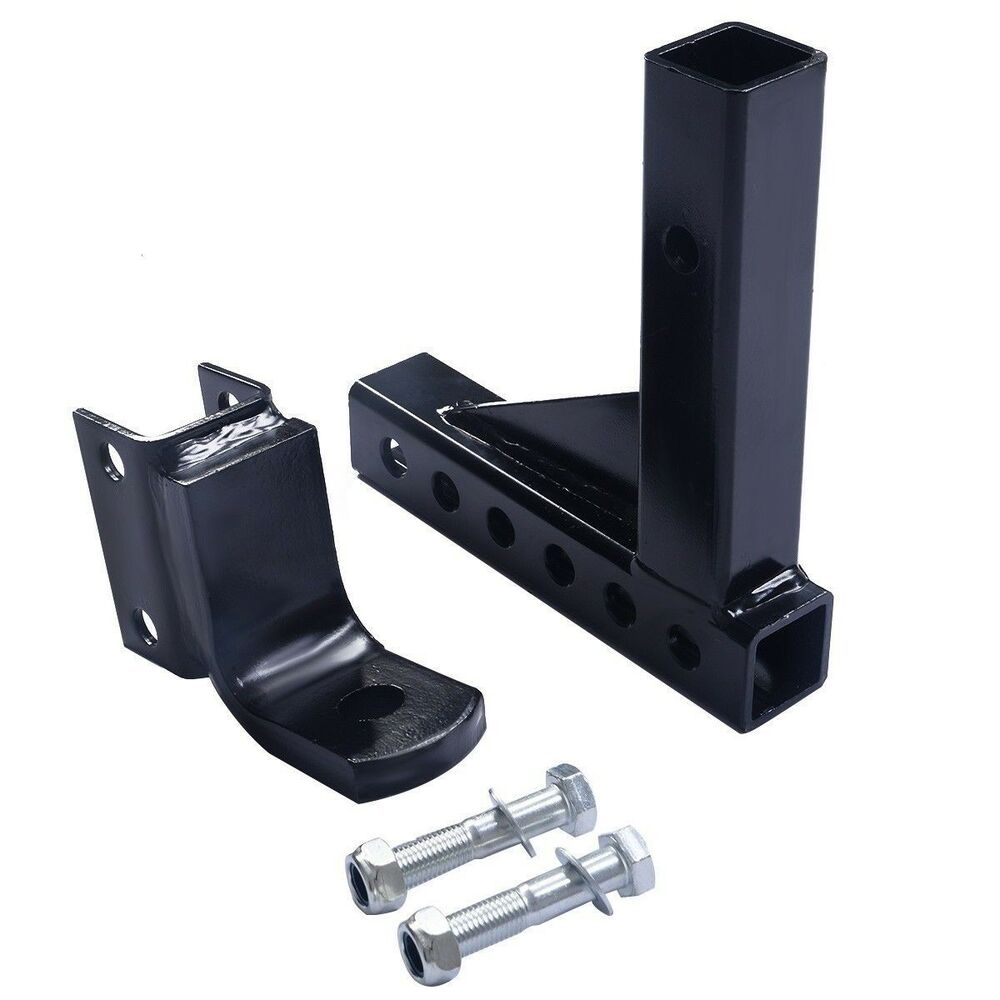 10 Adjustable Trailer Drop Hitch Ball Mount For 2