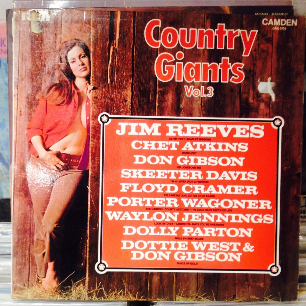 Details about Various artists-Country Giants Vol.3 LP//NUDE/CHEESECAKE  SLEEVE-SEXY!!!