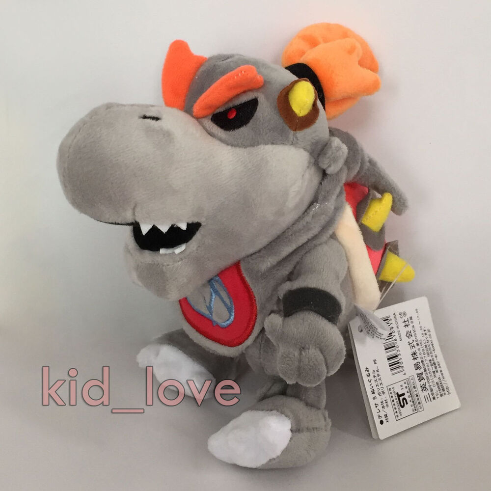 New Super Mario Bros Plush Baby Dry Bowser Jr. Soft Toy ...
