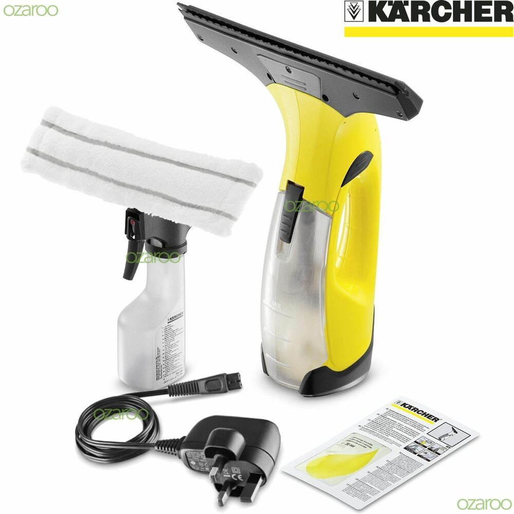 karcher wv2 plus vac cordless rechargeable glass window vacuum cleaner kit uk ebay. Black Bedroom Furniture Sets. Home Design Ideas