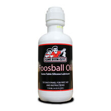 Game Room Guys Foosball Table Oil Rod Silicone 4 oz Bottle