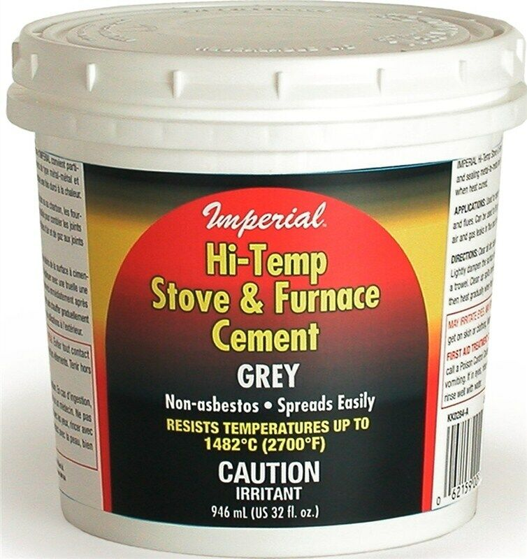 Imperial Mfg Group Kk0284 32oz Gry Cement Mortar No