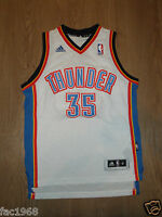 Kids Youth NBA Basketball Jersey Top Vest Thunder 35 Durant White S M L Adidas