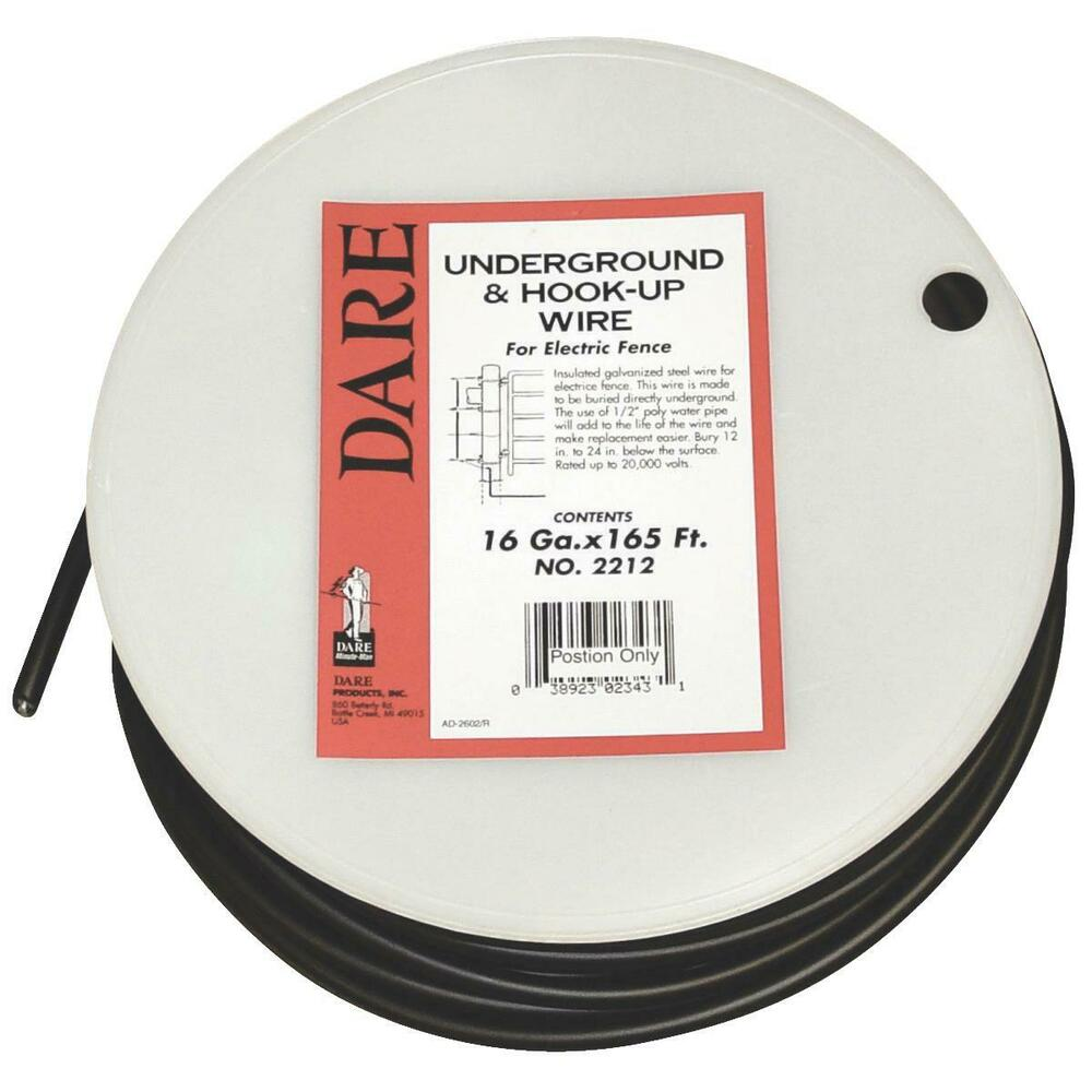 Underground And Hook Up Wire No 2212 Dare Products Inc