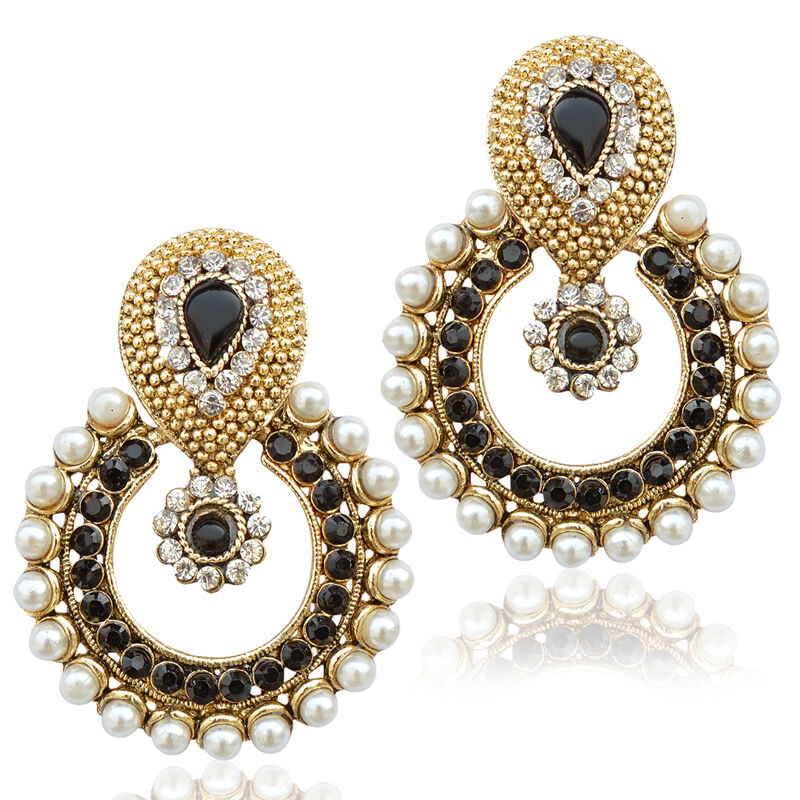 Pearl ethnic colourful india pakistan traditional for East indian jewelry online
