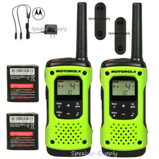 Mile High Water Talk: Motorola Talkabout T600 H2O Walkie Talkie Set 35 Mile Two