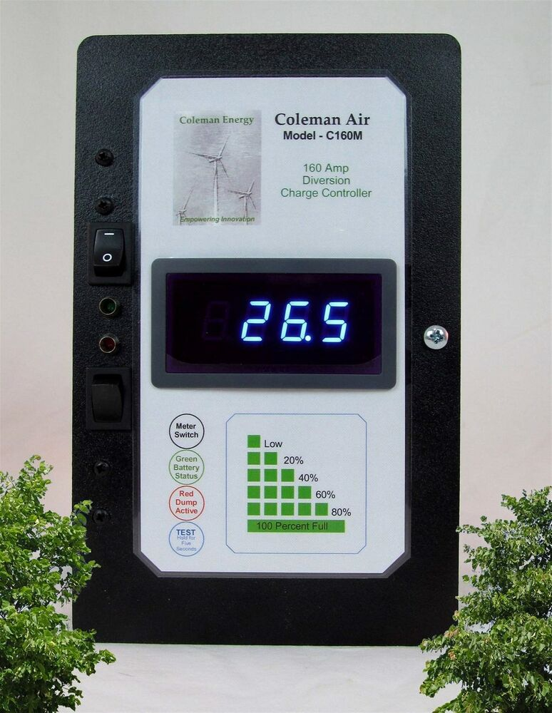 Coleman Air 440a 12 24 48v Wind Solar Diversioncharge Controller With