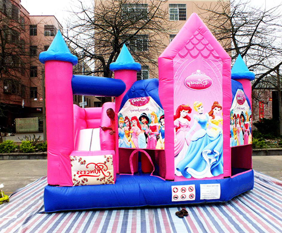 Inflatable Bounce House Castle Ball Slide Obstacle Course ...