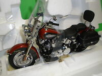 Harley Davidson 2007 HERITAGE SOFT TAIL CLASSIC Motorcycle Franklin Mint B11E348
