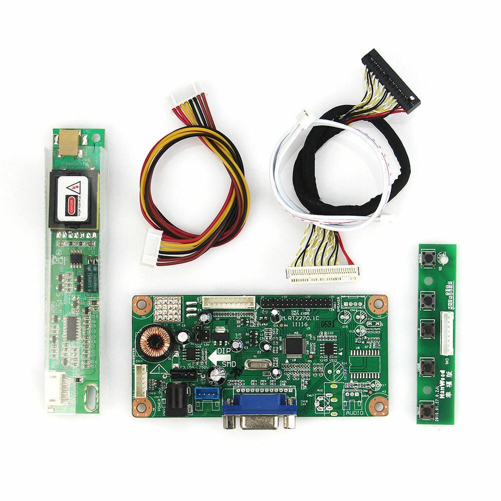 lvds lcd controller board kit diy vga driver board m rt2270 ebay. Black Bedroom Furniture Sets. Home Design Ideas