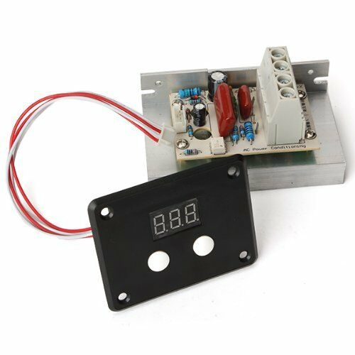 Ac 220v 10000w Scr Voltage Regulator Speed Control Dimmer