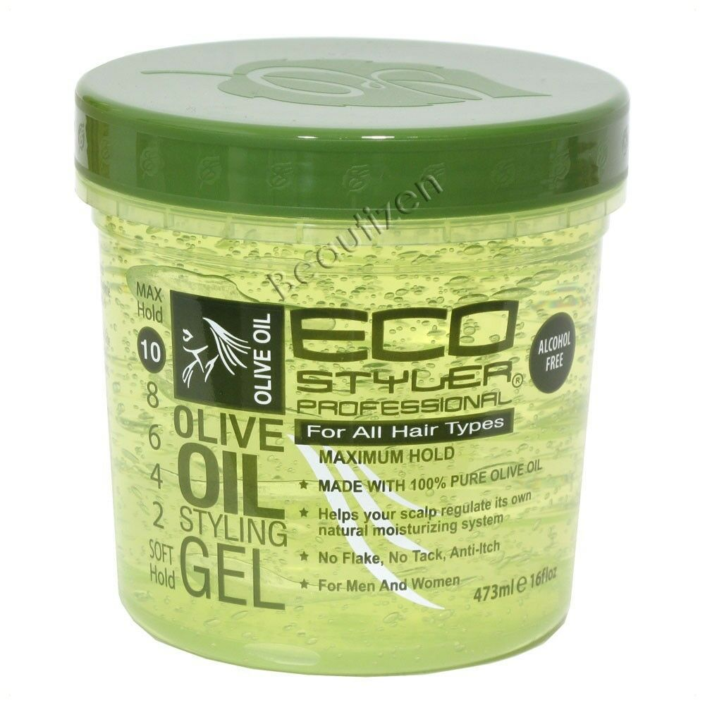 hair styling gel eco olive styling gel maximum hold free 16 fl 4850