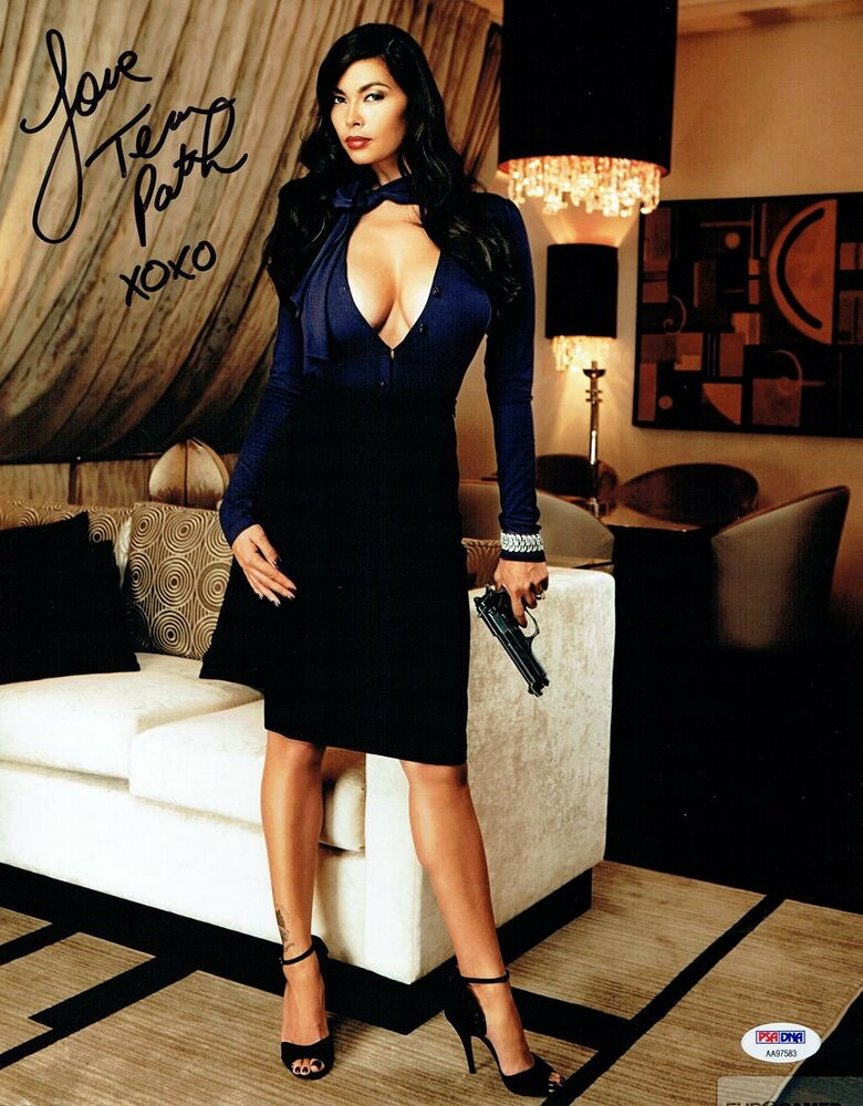 Tera Patrick Signed Sexy Authentic Autographed 11X14 Photo -5710