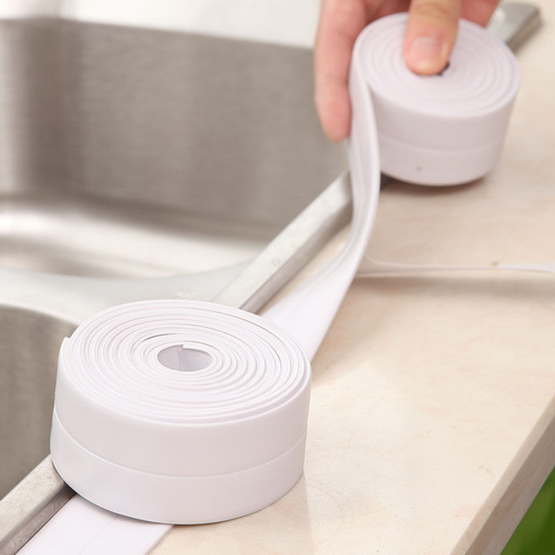 Mould Proofing Kitchen Bathroom Wall Sealing Waterproof Mould Adhesive Tape Pvc Ebay