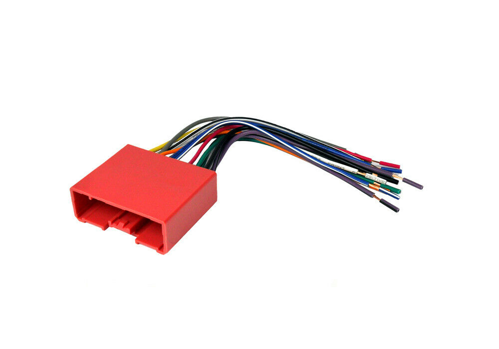 Car Stereo Radio Wiring Harness Plugs Into Factory Harness
