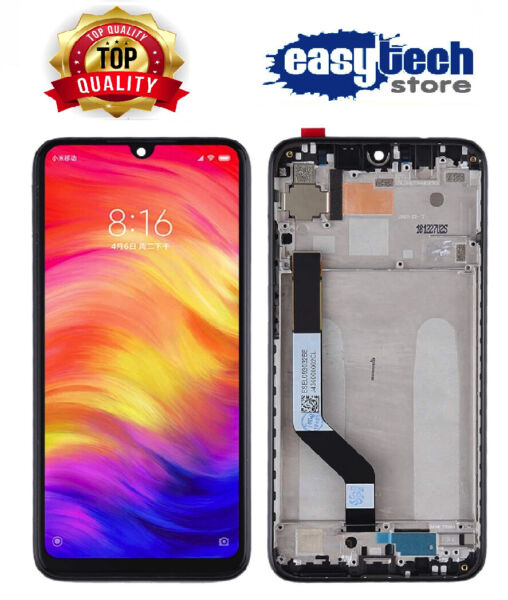 Touch Screen LCD Display Vetro Schermo Per XiaoMi Redmi NOTE 7 / 7 PRO NERO