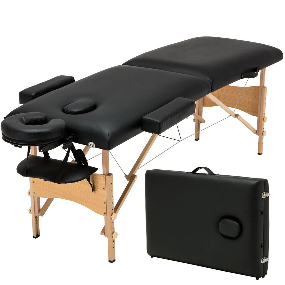 84 l fold massage table facial spa beauty bed tattoo with free carry case 709202324128 ebay - Massage table professional ...