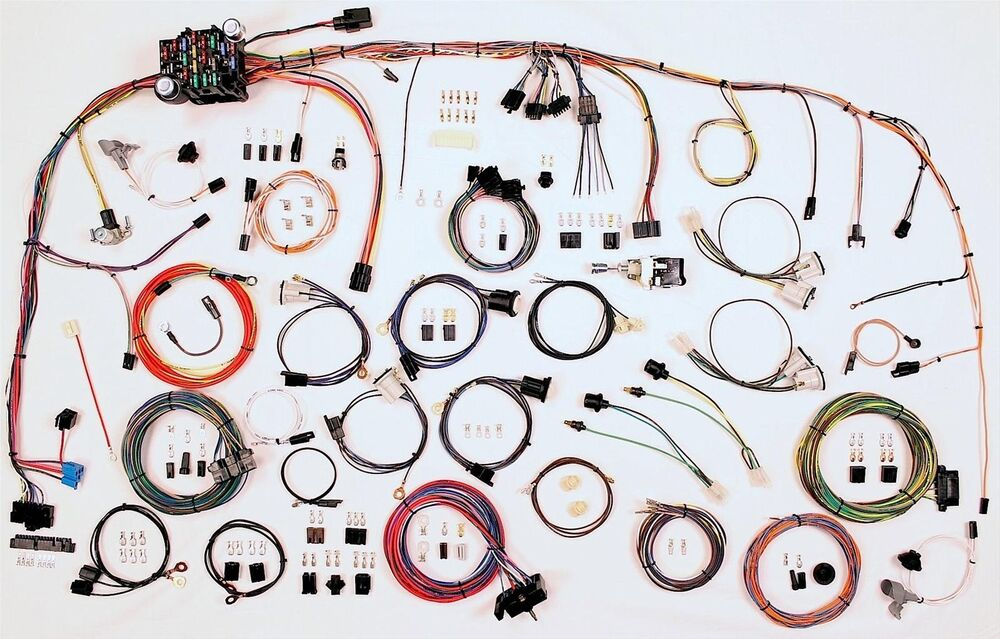 1973 82 chevy truck c10 american autowire classic update wiring harness 510347 ebay. Black Bedroom Furniture Sets. Home Design Ideas