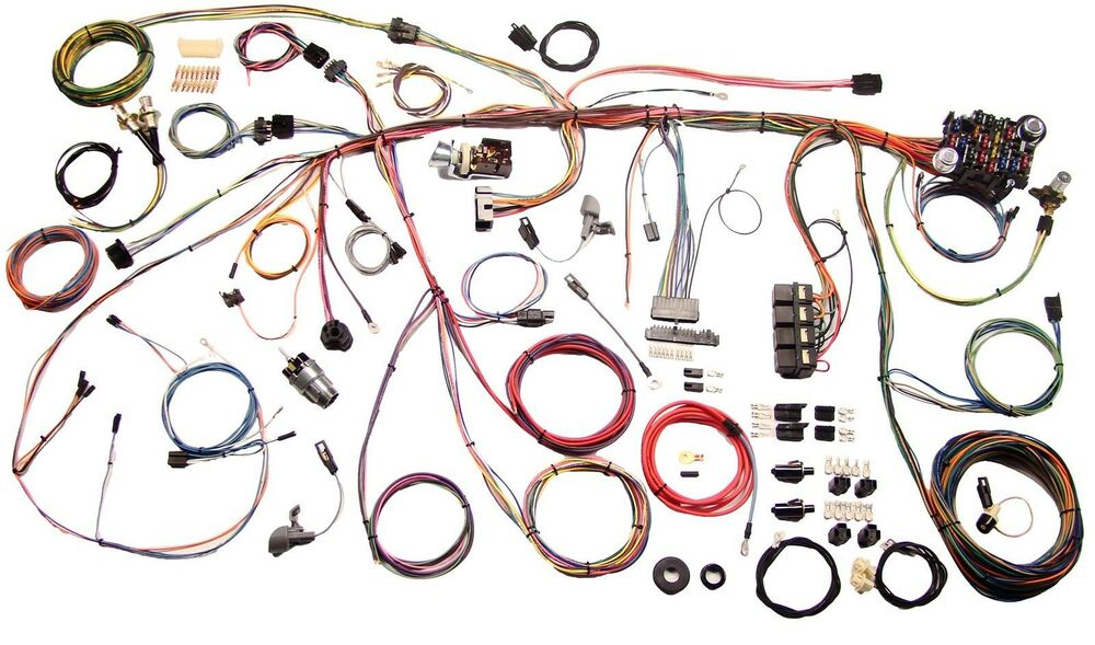 1969 Ford Mustang American Autowire Classic Update Wiring