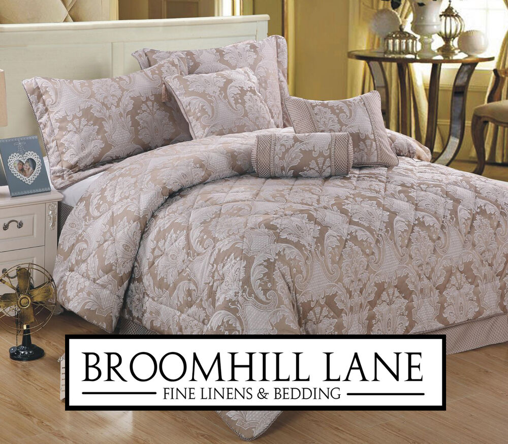 Beautiful Linens: Brand New! Linen Mink Beautiful French Bedding Sets