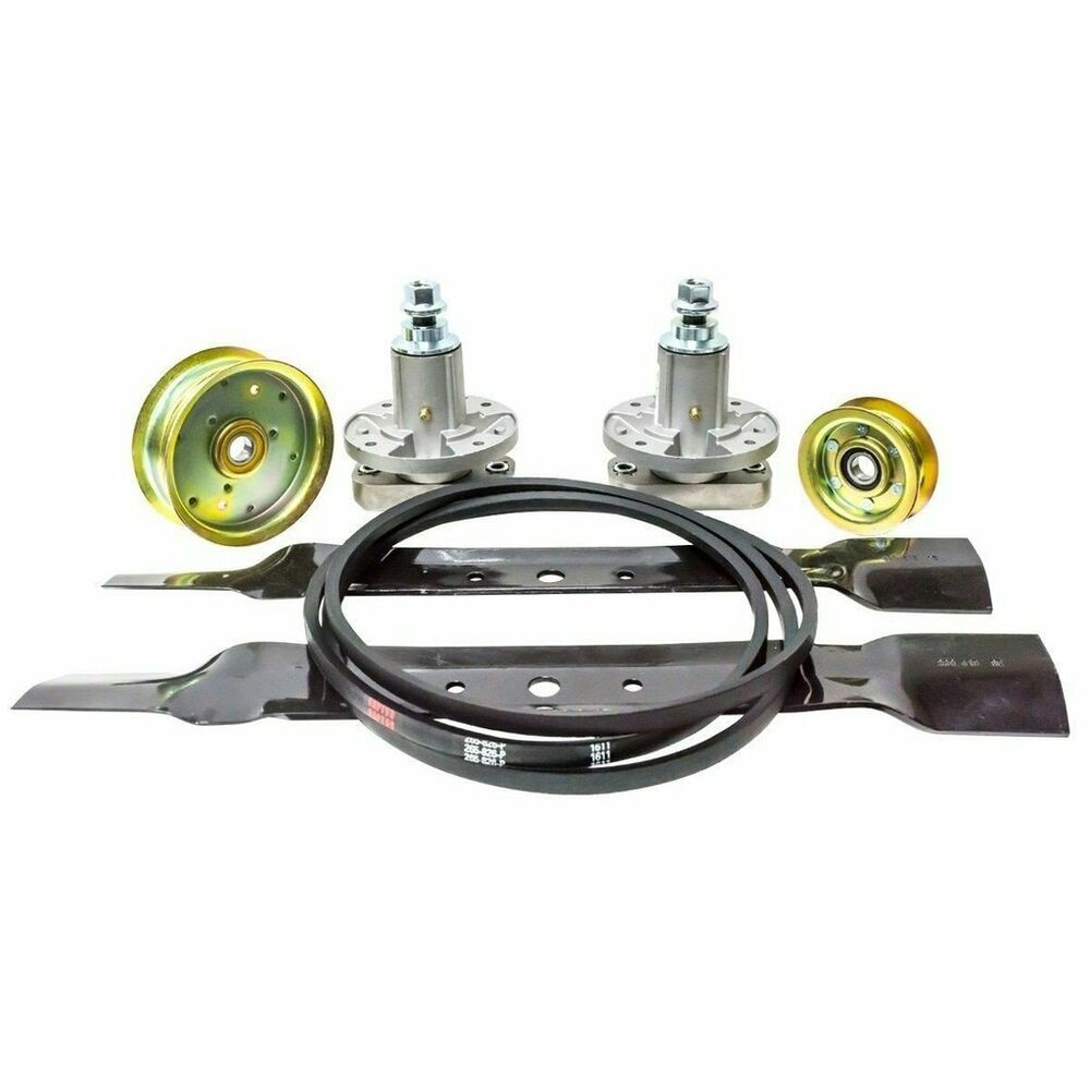 Deck Kit For 42 U0026quot  John Deere L100 L108 L110 L111 L118 Belt Blades Spindles