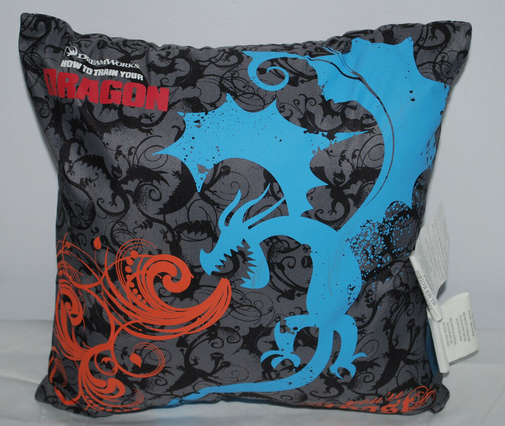 How to Train Your Dragon Boys Bedroom Throw Pillow Dreamworks Your re Toast NEW eBay