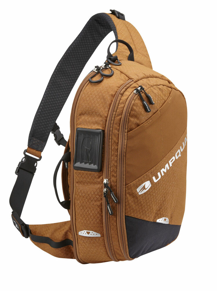 New 2016 umpqua steamboat 1200 zero sweep fly fishing for Fly fishing sling pack