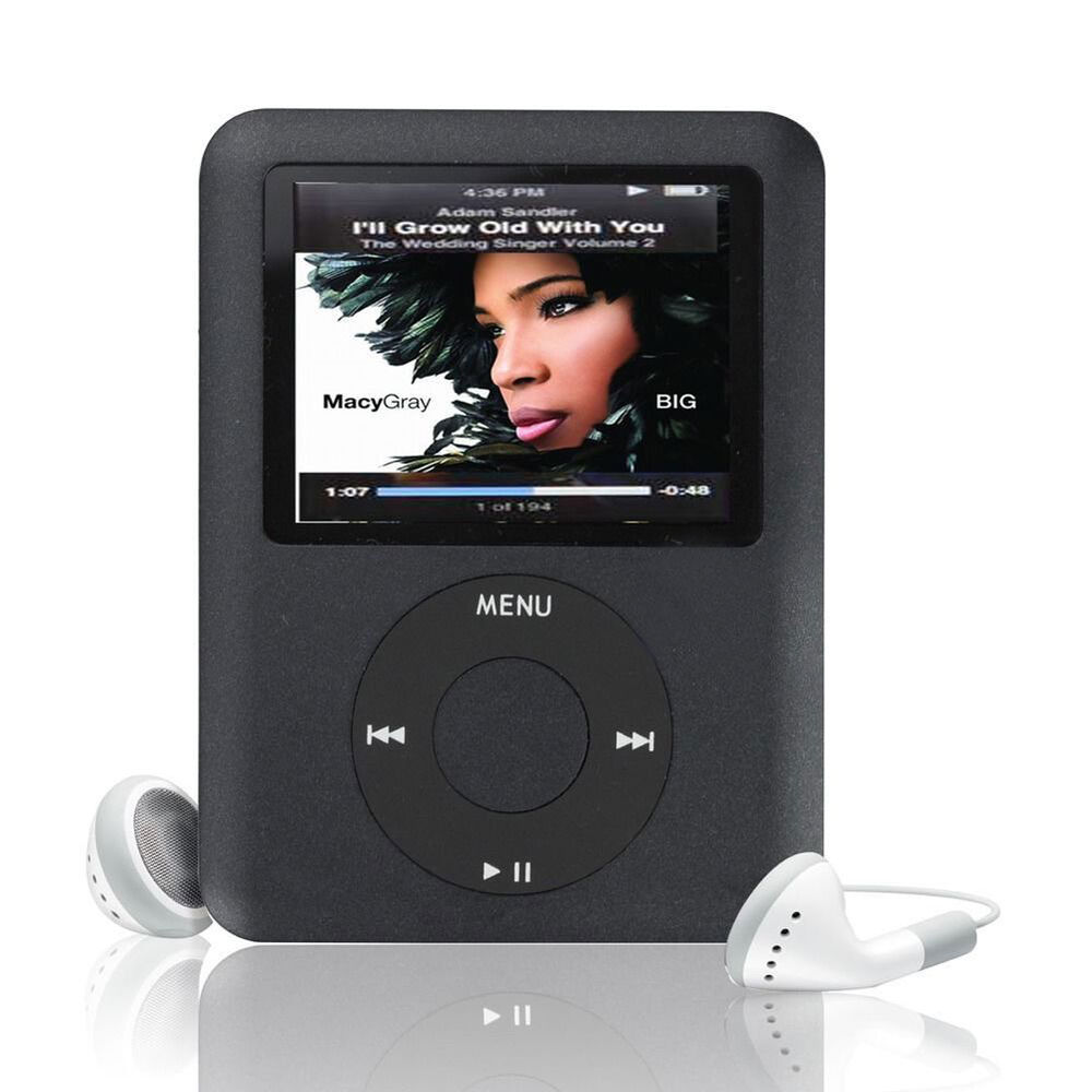 player mp3 mp4 radio fm mp5 games recorder lcd 16gb players slim generation 8gb 3th h71 ipods 8in