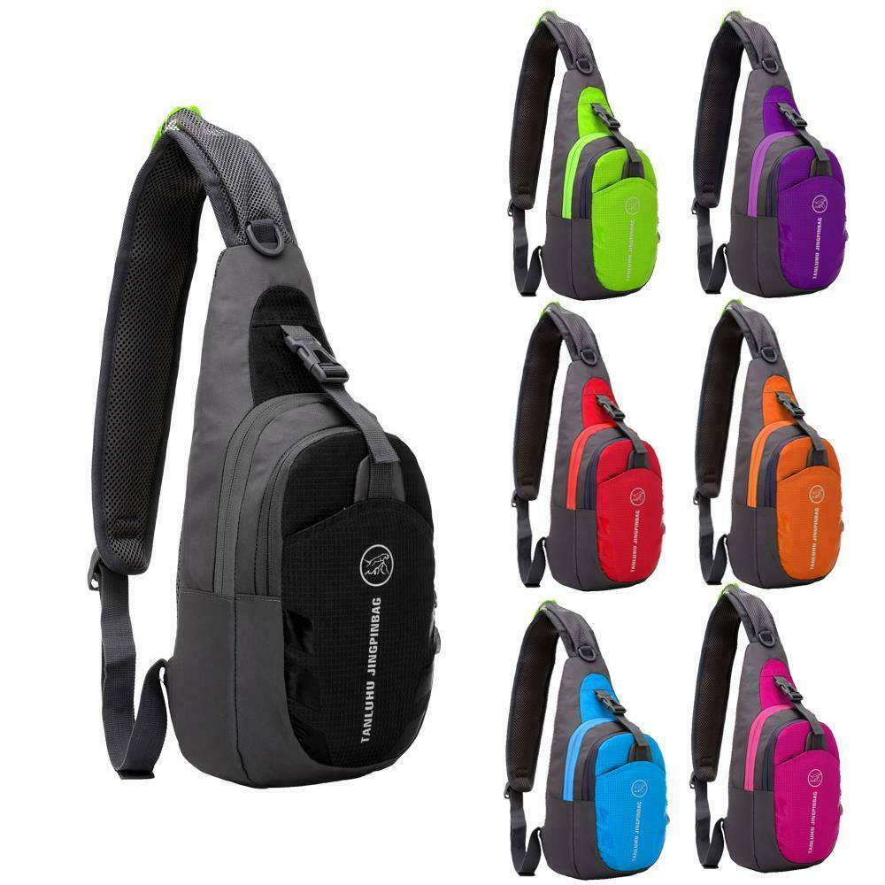 Durable Nylon Small Chest Bag Outdoor Travel Sport