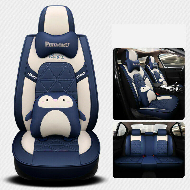 foam burgundy black leather car seat cover ford focus fiesta ranger mondeo kuga ebay. Black Bedroom Furniture Sets. Home Design Ideas