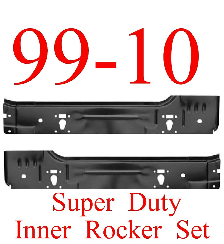 99 15 Ford Super Duty Inner Rocker Panel SET 2 Door