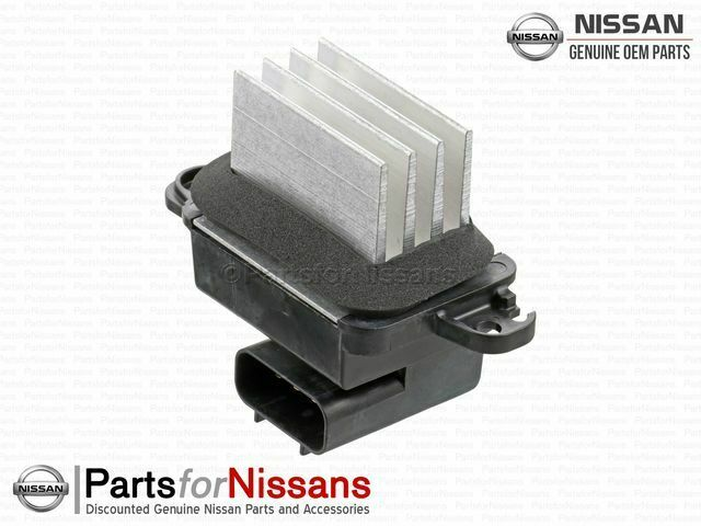Genuine 2004 2015 nissan resistor 27151 zt00a ebay for Nissan quest blower motor resistor