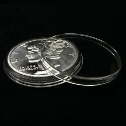 Kyпить 10 Airtite Holders Coin Capsules for 1 oz Silver Rounds, Direct Fit 39mm на еВаy.соm