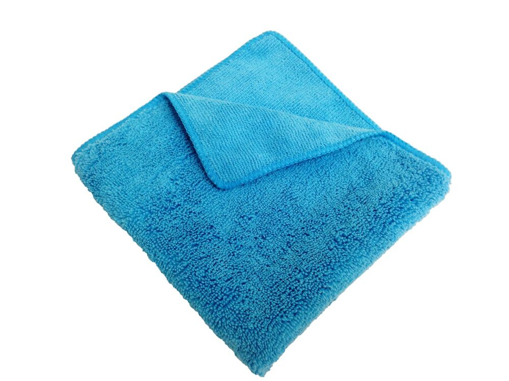 24 Blue 14 Quot X14 Quot Microfiber Extra Plush Fluffy Cleaning