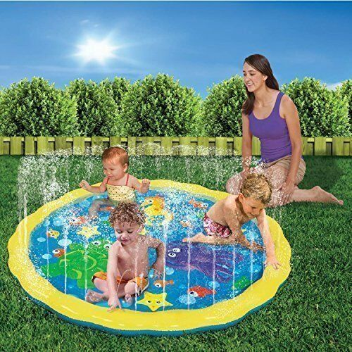 Inflatable toddler kids outdoor water pool toys baby for Baby garden pool