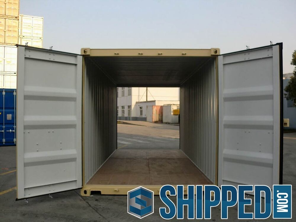 New 20ft double door shipping container secure storage in Shipping containers for sale in minnesota
