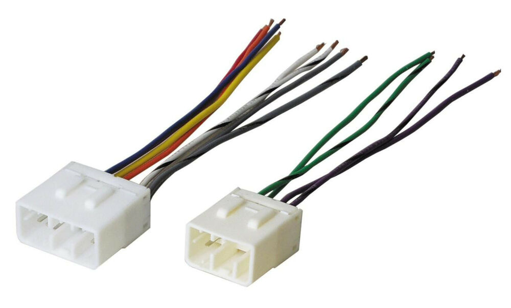 Aftermarket Radio Stereo Installation Wire Wiring Harness Cable Plug Mazda