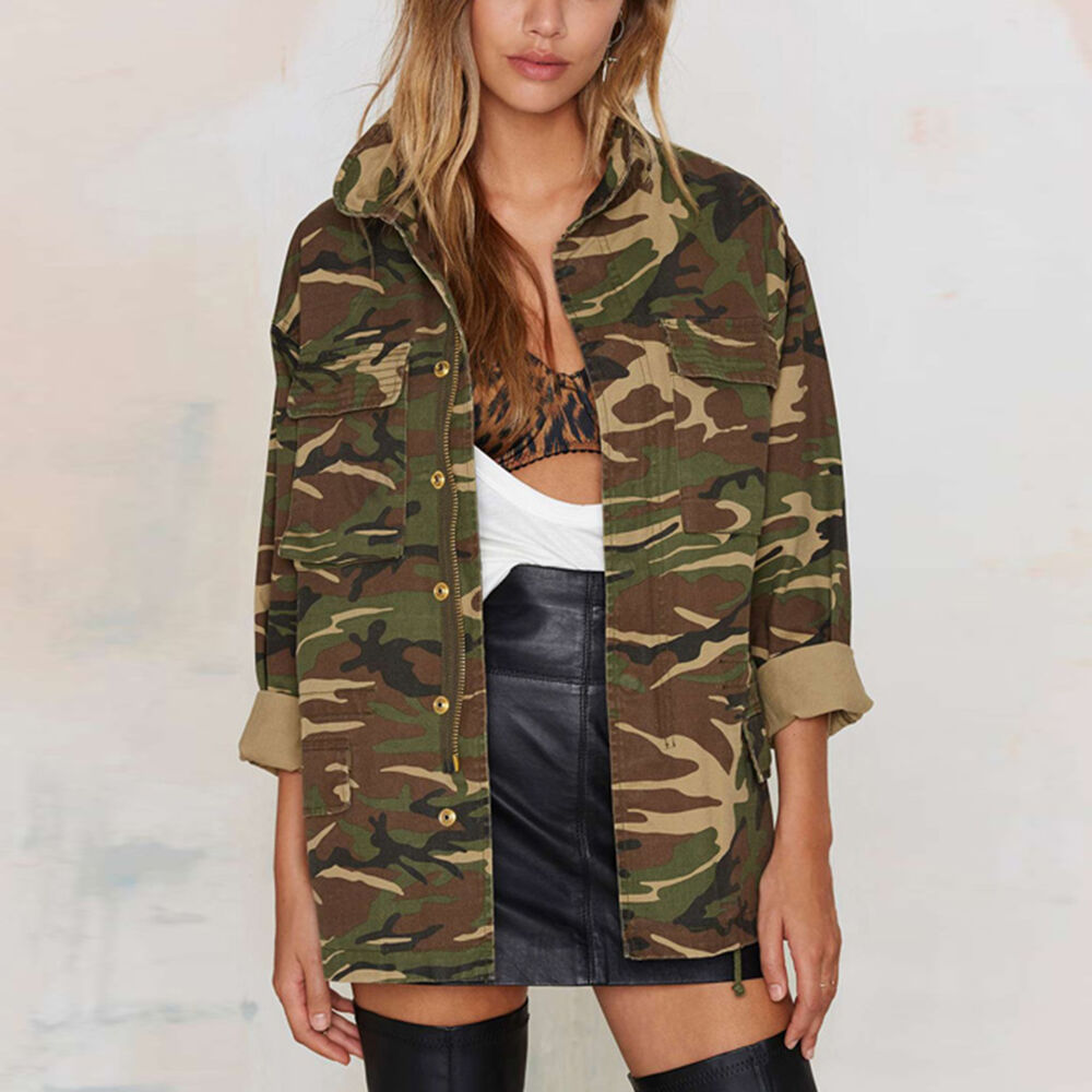 Womens camoflage jacket