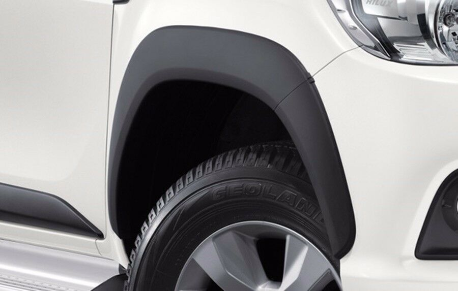 Genuine Toyota Hilux Revo Black Fender Flares Wheel Arch