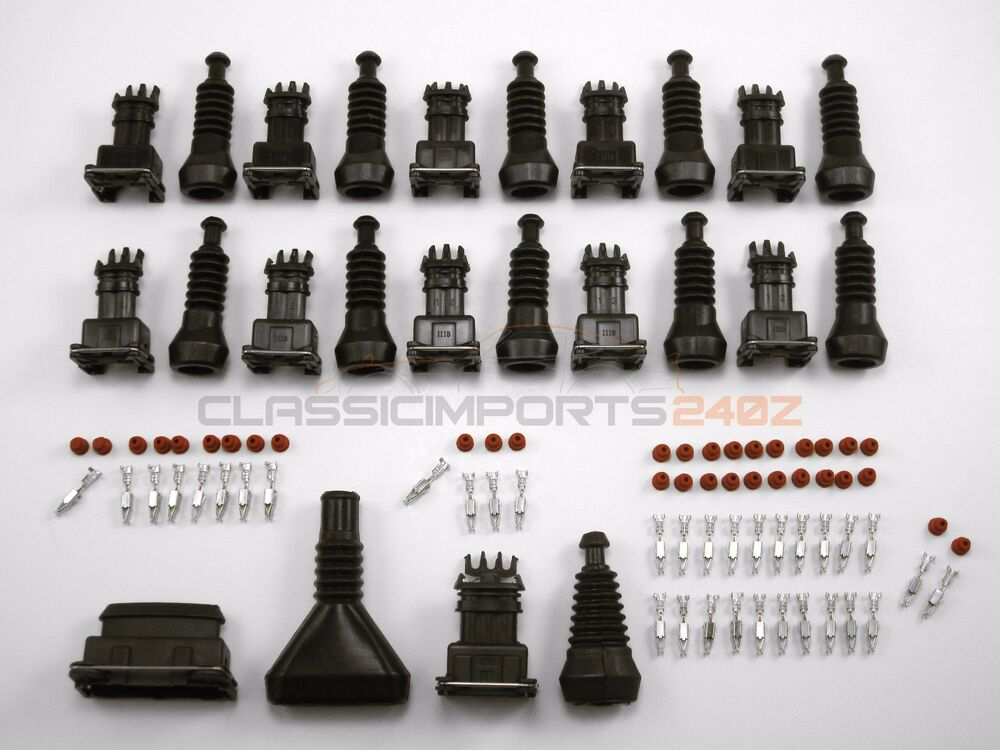 Fuel injector afm tps connector repair kit for datsun z