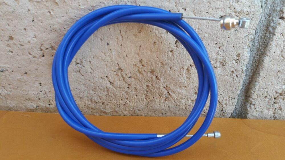 """Universal Bike Brake Cable /& Housing 65/"""" Cable White New BMX"""