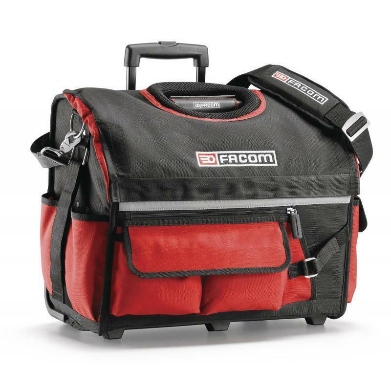 facom bs r20 rolling tote tool bag with wheels handle ebay