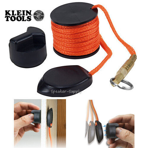 Klein tools magnetic wire pulling system wall fishing fish for Magnetic fish tape