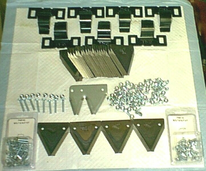 Ledger Plates Sickle : Switch your ford sickle mower from rivets to bolts kit