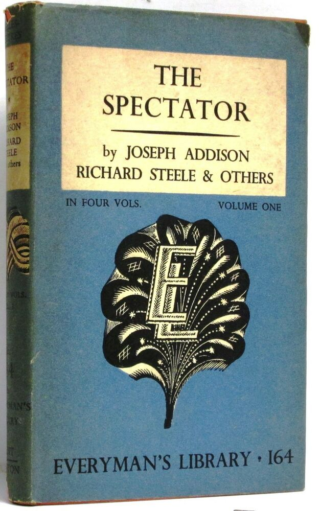 "the spectator by joseph addison essay ""pleasures of the imagination"" by joseph joseph addison, the spectator cis bacon, in his essay upon health."