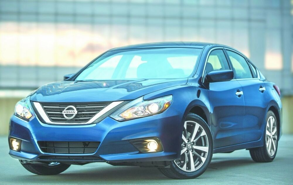 2016 2017 Nissan Altima Angel Eye Halo Fog Lamps Driving ...