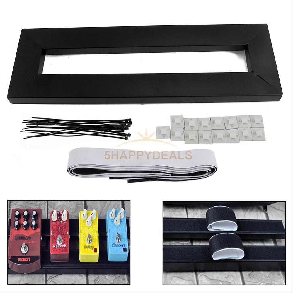 new electric guitar pedal boards effects pedal board cases tape adhesive back ebay. Black Bedroom Furniture Sets. Home Design Ideas