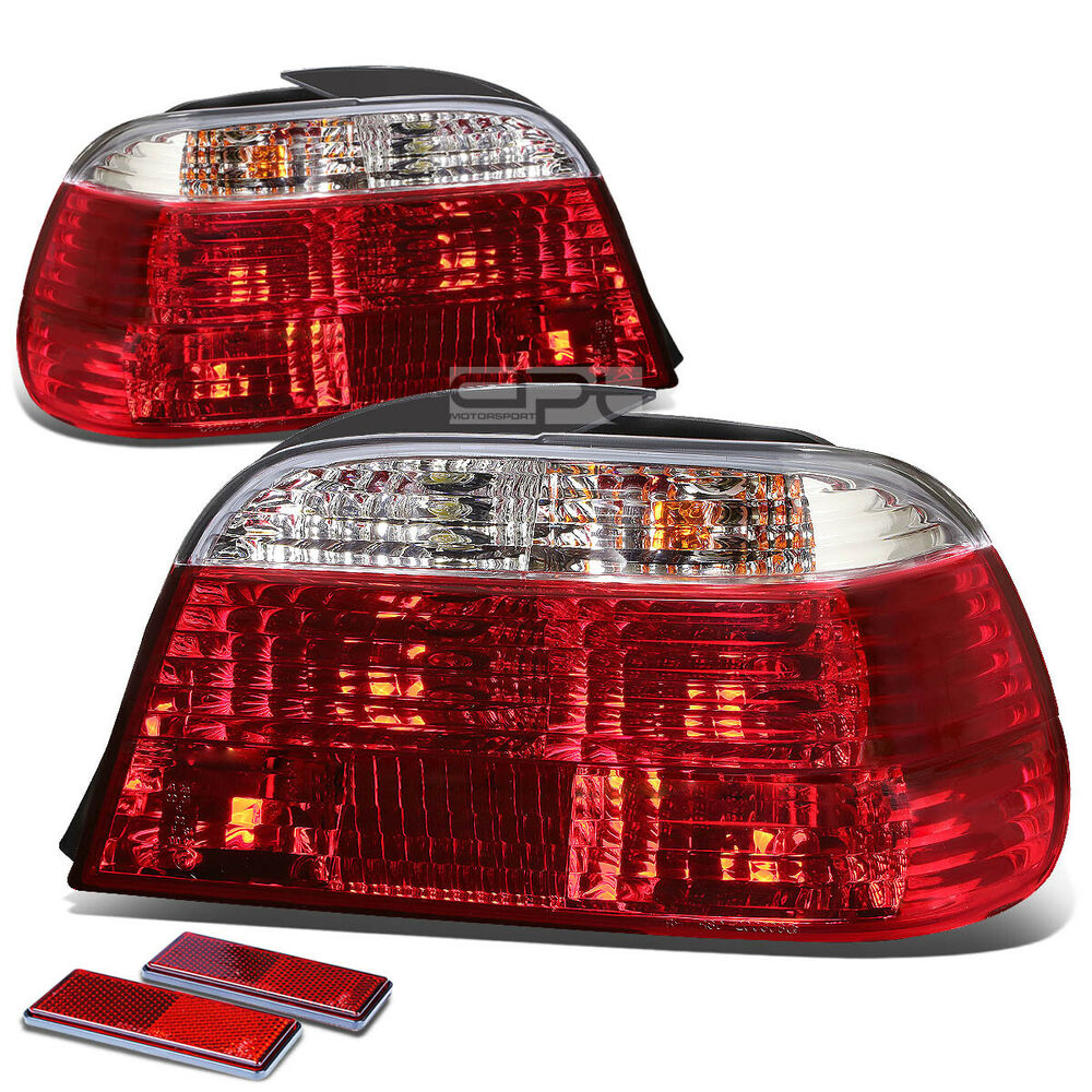 Bmw 7 Series Facelift Fully Leaked Front And Rear: FOR 95-01 BMW E38 7-SERIES 4DR CLEAR LENS RED LED SIGNAL