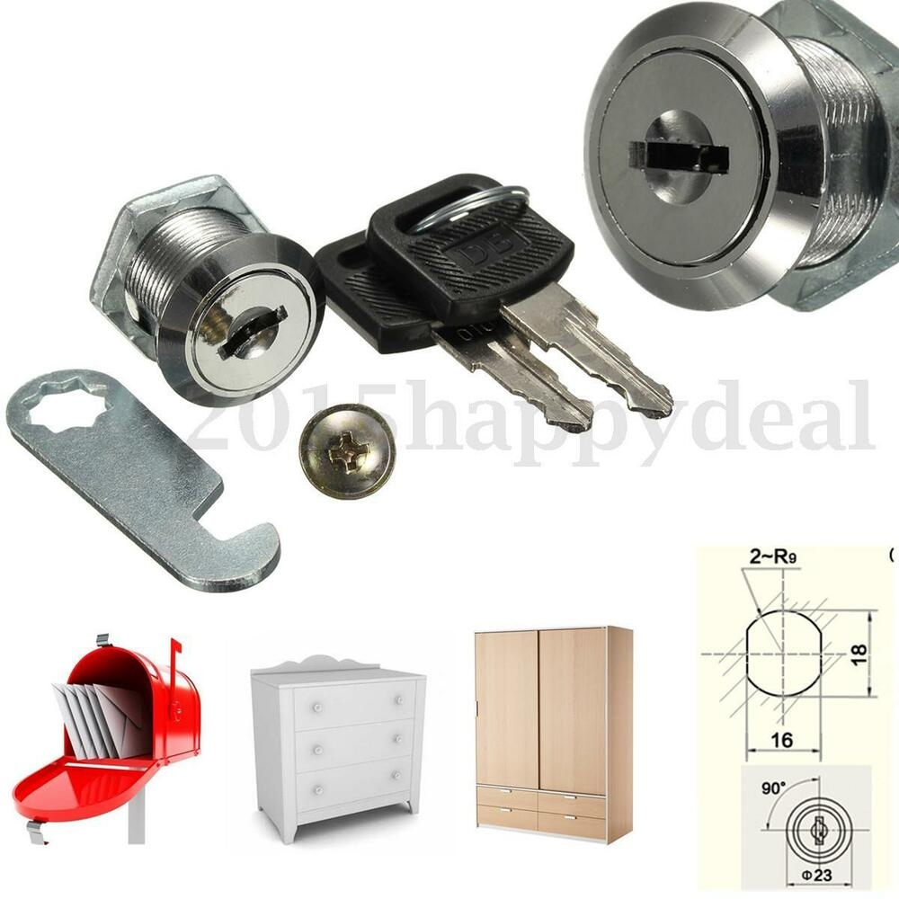 16mm 20mm cam lock for cabinet mailbox drawer cupboard for Cam lock kitchen cabinets
