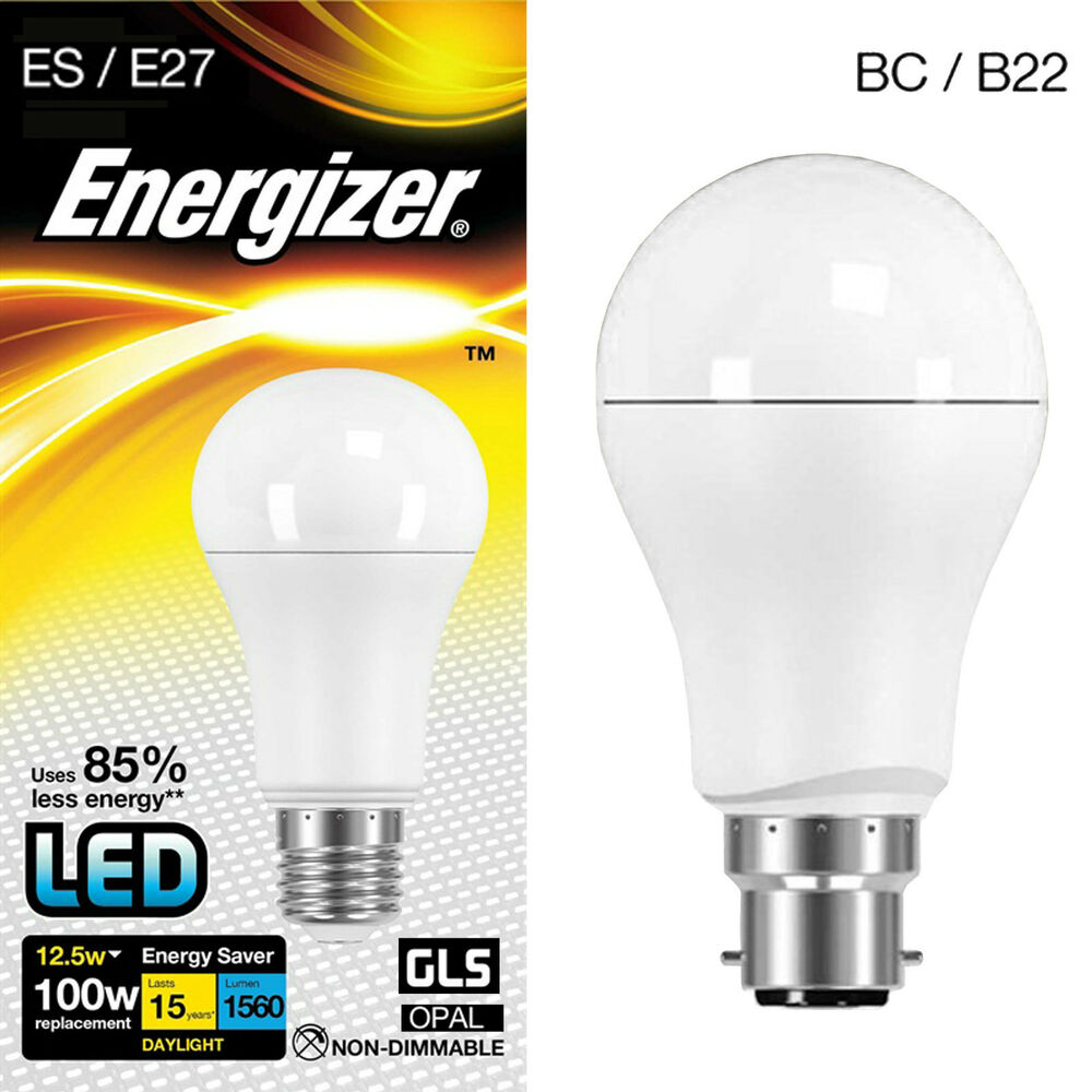 100w led energy saving gls light bulb cool white daylight 6500k bc b22 or es e27 ebay. Black Bedroom Furniture Sets. Home Design Ideas
